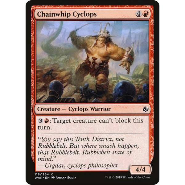 Bilde av Chainwhip Cyclops